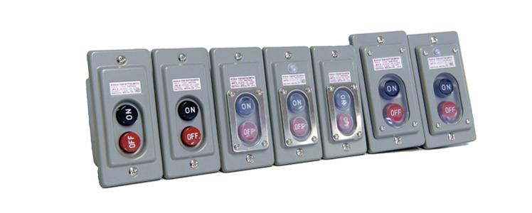 押しボタン始動スイッチ